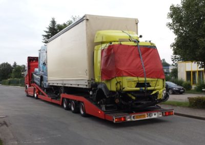 Volvo motorwagen vanuit Duitsland